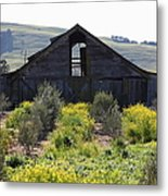 Old Barn In Sonoma California 5d22236 Metal Print