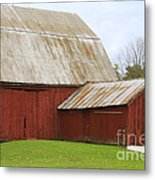 Old Barn Metal Print by Kathy DesJardins