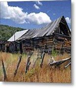 Old Barn Las Trampas New Mexico Metal Print