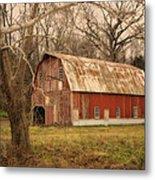 Old Barn Near Rhineland Mo Dsc09267 Metal Print