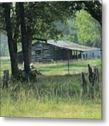 Old Barn Metal Print by Rosalie Klidies