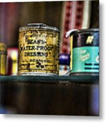 Old Bean Metal Print