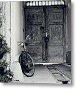 Old Bicycle Metal Print by Jelena Jovanovic