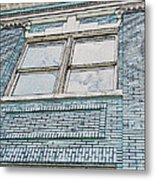 Old Blue Building I Metal Print