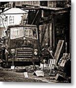 old BMC diesel Metal Print