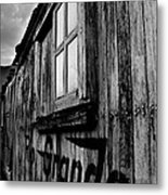Old Box Car Metal Print
