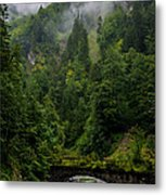 Old Bridge - Austrian Alps - Austria Metal Print