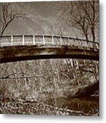 Old Bridge In Autumn Metal Print