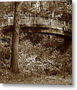 Old Bridge In Summer Metal Print