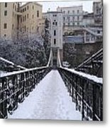 Old Bridge Of Constantine Metal Print by Boultifat Abdelhak badou