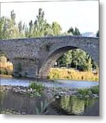 Old Bridge Over Tormes River Metal Print