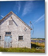 Old Building In North Rustico Metal Print