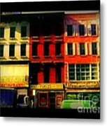 Old Buildings 6th Avenue - Vintage Nyc Architecture Metal Print