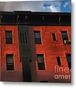 Brownstone 1 - Old Buildings And Architecture Of New York City Metal Print
