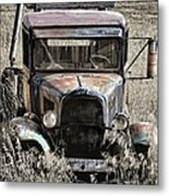 Old But Not Forgotten Metal Print