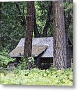 Old Cabin Metal Print
