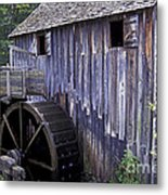 Old Cades Cove Mill Metal Print