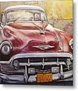 Old Cadillac Metal Print