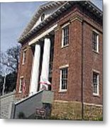 Old California State Capitol Building Benicia Metal Print