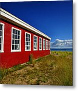 Old Cannery Building Metal Print