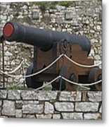 Old Cannon Metal Print