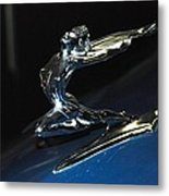 Old Car Detail 2 Metal Print