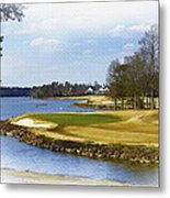 Old Carolina Golf Club Metal Print