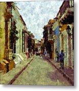 Old Cartagena 1 Metal Print