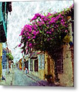 Old Cartagena 2 Metal Print