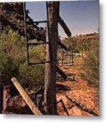 Old Cattle Station V2 Metal Print
