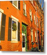 Old Charestown Neighborhood Metal Print