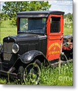 Old Chevrolet Truck Metal Print