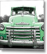 Old Chevy Pickup Truck Metal Print