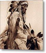 Old Cheyenne Metal Print