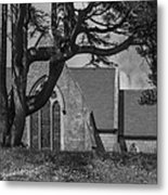 Old Church In The Hill Metal Print