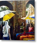Old City Ahmedabad Series 8 Metal Print