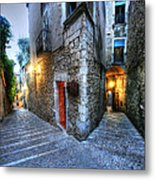 Old City Girona Metal Print by Isaac Silman