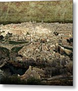 Old City Of Toledo Metal Print