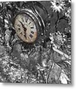 Old Clock Metal Print