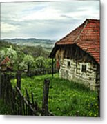 Old Cottage Metal Print by Jelena Jovanovic
