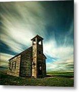 Old Cottonwood Church Metal Print