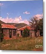 Old Country Homes Metal Print