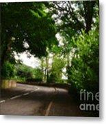 Old Country Road - Peak District - England Metal Print
