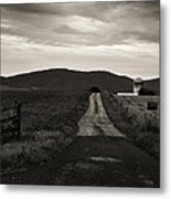 Old Country Roads Metal Print