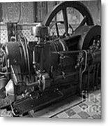 Old Diesel Motor Mexico Metal Print