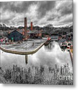 Old Dock Metal Print by Adrian Evans