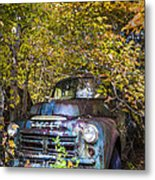 Old Dodge Metal Print