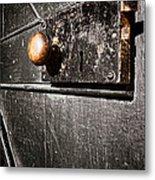 Old Door Lock Metal Print by Olivier Le Queinec