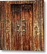 Old Doorway Metal Print