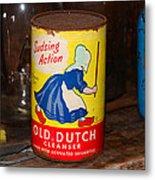 Old Dutch Metal Print
